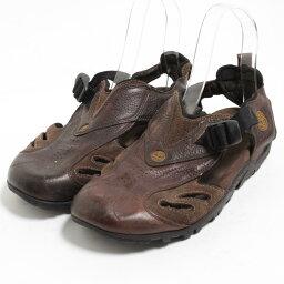 timbarando Timberland皮革涼鞋8M人26.0cm/bon0020