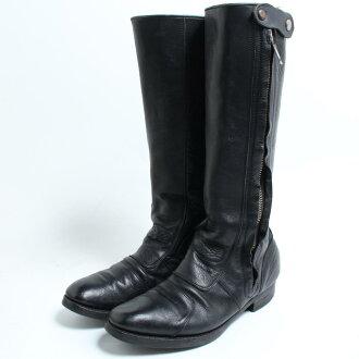 9c40e32ebab94 Rare item 70s UNKNOWN motorcycle boots men 28.5cm vintage /bon0687