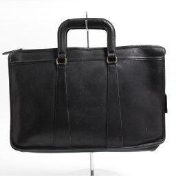 教練COACH OLD COACH老教練本皮革皮革商務包公事包USA製造/anb8270[中古][舊衣店JAM][180612]