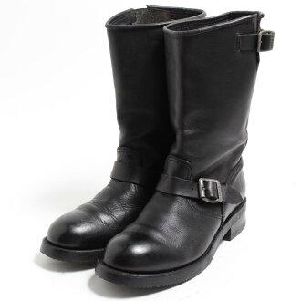 SENDRA技術員長筒靴西班牙製造US9.5男子的27.5cm/bom9195