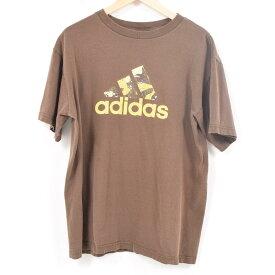 アディダス adidas ロゴTシャツ メンズM /wap8799 【中古】【古着屋JAM】 【180701】【SS1906】