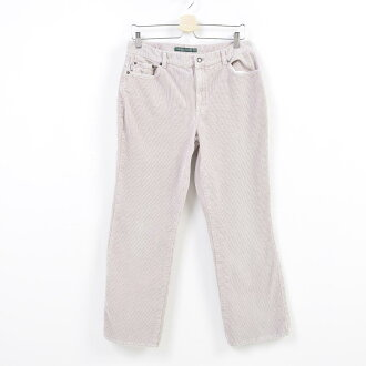 Ralph Lauren Ralph Lauren POLO JEANS COMPANY bootcut corduroy underwear Lady's XL(w33) /was8555