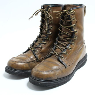 d1d0e770cb1 50~60 generation Sears Sears work boots 9.5D men 27.5cm vintage /bon7678