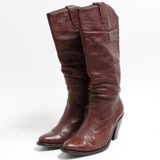 SENDRA西部長筒靴US6女士22.5cm/bon6837