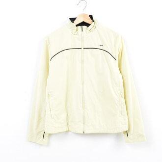 Nike NIKE nylon jacket Lady's M /wav9195