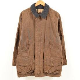 バーバリー Burberry's キルティングライナー ワックスコットン オイルドジャケット メンズL /wax1925 【中古】 【180911】【GS1911】【TS2001】【SS2007】【CS2007】