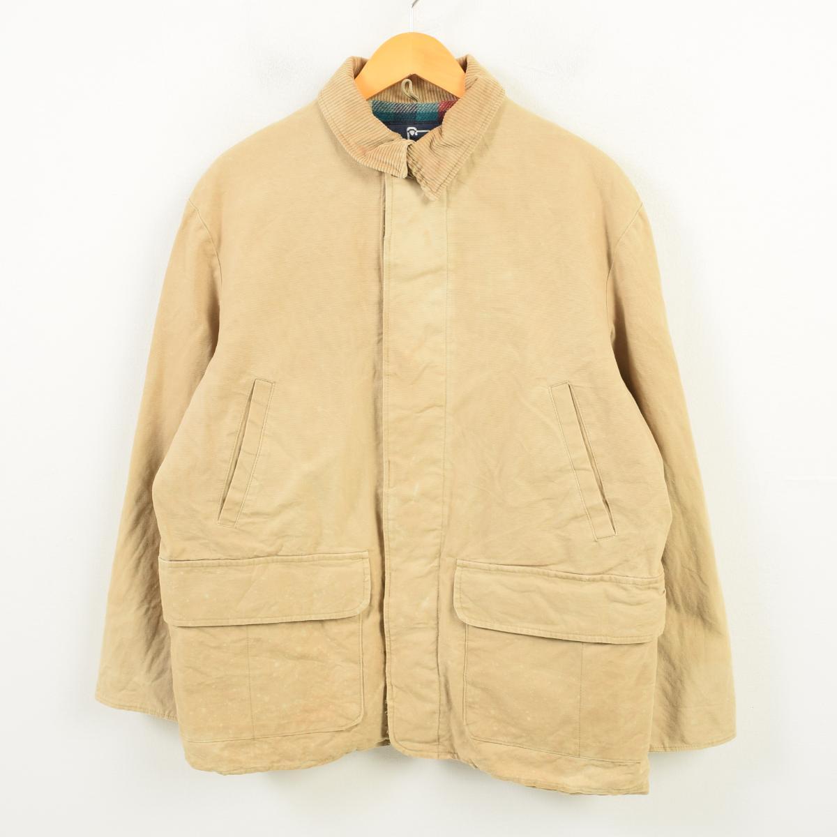 80年代 ウールリッチ WOOLRICH ハンティングジャケット USA製 メンズL ヴィンテージ /wax6762 【中古】 【180928】