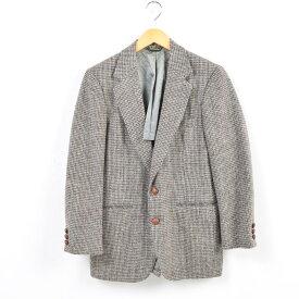 70年代 ハリスツイード Harris Tweed ウールテーラードジャケット USA製 メンズXS ヴィンテージ /wav7303 【中古】 【181001】