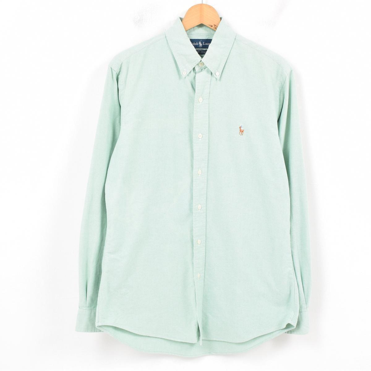 ラルフローレン Ralph Lauren 長袖 ボタンダウンシャツ メンズM /wav0443 【中古】 【181009】