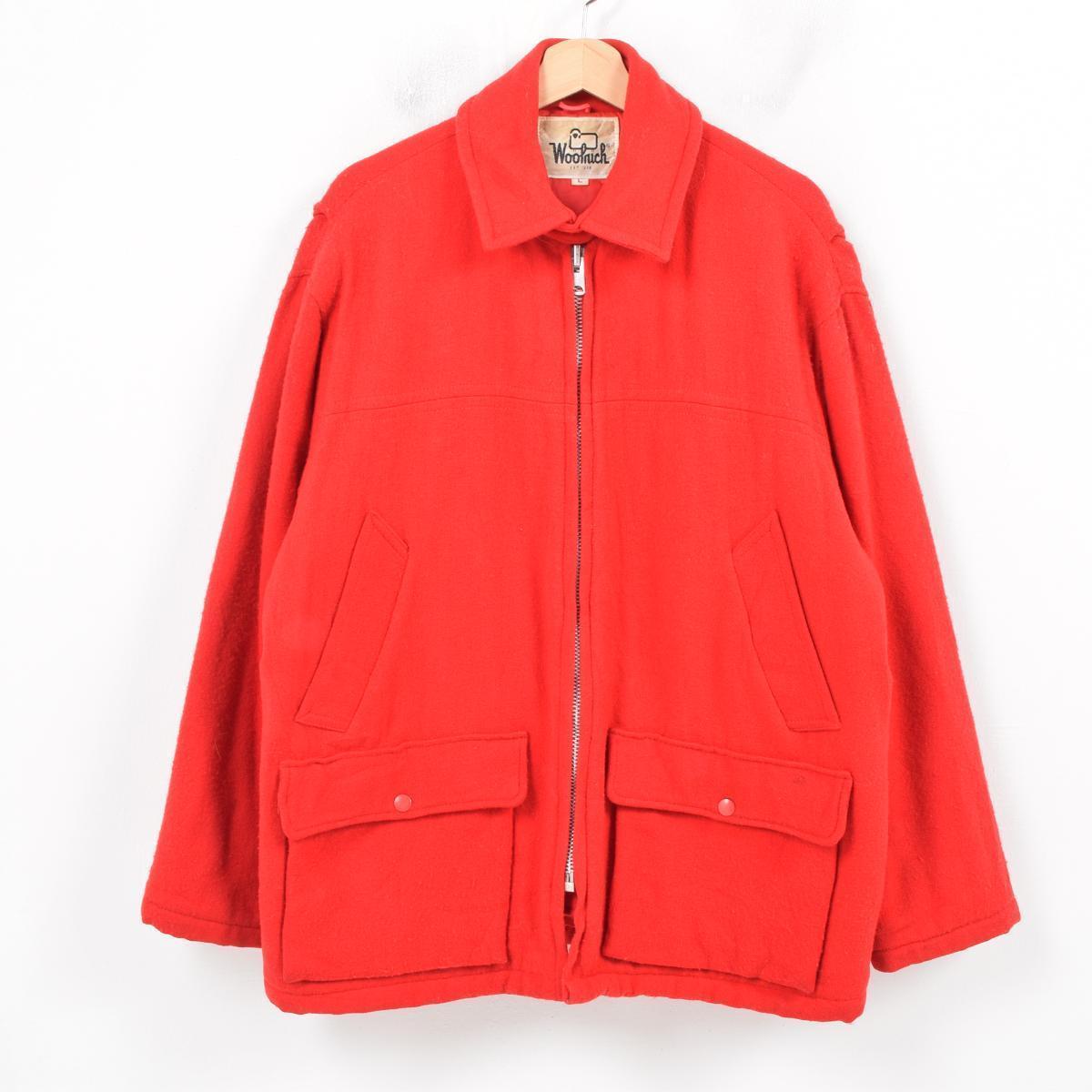60〜70年代 ウールリッチ WOOLRICH ウールジャケット メンズL ヴィンテージ /wax9590 【中古】 【181021】【SS1901-5】