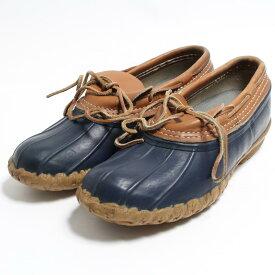 エルエルビーン L.L.Bean 3ホール ビーンブーツ ガムシューズ ハンティングブーツ USA製 8LM レディース25.0cm /bon2435 【中古】 【181223】【SS1912】