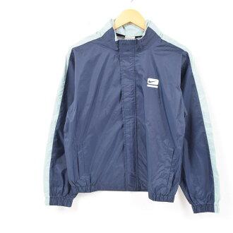 Nike NIKE food storing type nylon jacket Lady's L /wba1155