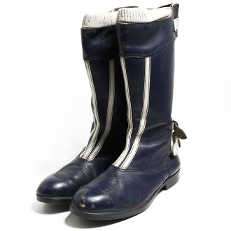 564c82638bb64 UK11 men 29.5cm vintage /bon1808 in the 70s made in the motorcycle boots  steel toe U.K.