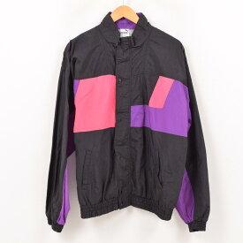 80年代 プーマ PUMA ナイロンジャケット メンズL ヴィンテージ /wax4186 【中古】 【190119】【TS1910】