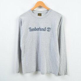 ティンバーランド Timberland ロングTシャツ ロンT USA製 メンズS /wbb2895 【中古】 【190125】
