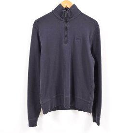 バーバリー Burberry's ハーフジップスウェットシャツ トレーナー メンズM /wba5004 【中古】 【190208】【TS1911】