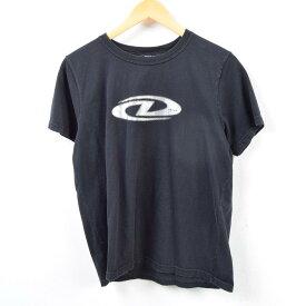 ダナキャランニューヨーク DKNY ロゴプリントTシャツ メンズS /wbc8966 【中古】 【190226】【SS1909】