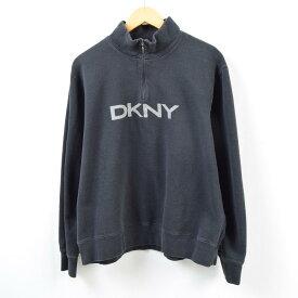 ダナキャランニューヨーク DKNY ハーフジップスウェットシャツ トレーナー メンズM /wbc3263 【中古】 【190307】