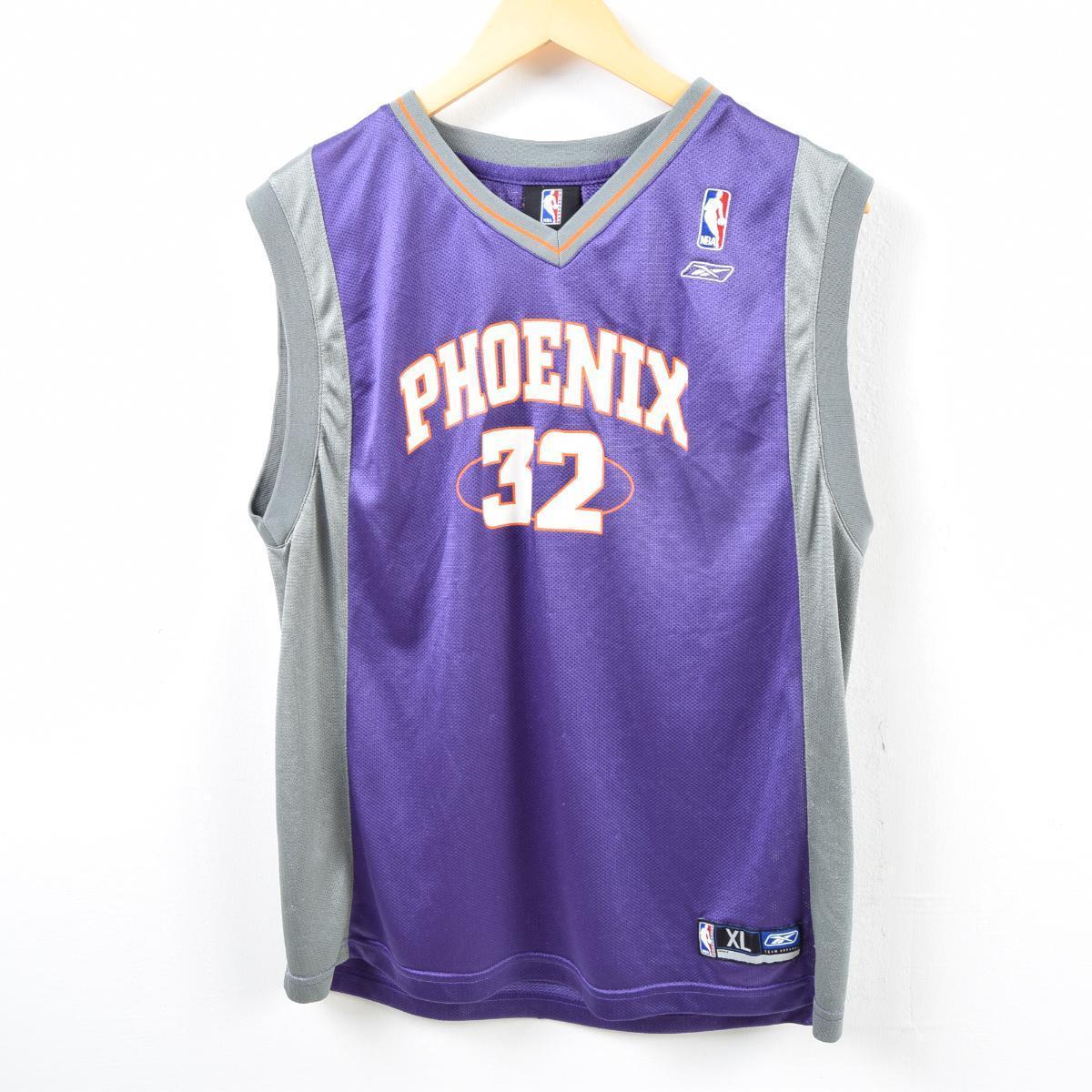 リーボック Reebok NBA PHOENIX SUNS フェニックスサンズ ゲームシャツ レプリカユニフォーム メンズS /wbd0818 【中古】 【190317】