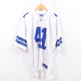 0e9f6386c53 リーボック Reebok NFL DALLAS COWBOYS ダラスカウボーイズ ゲームシャツ レプリカユニフォーム メンズXXL /wbd9372