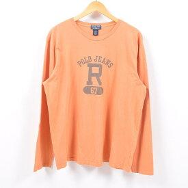 ラルフローレン Ralph Lauren POLO JEANS COMPANY ロングTシャツ ロンT メンズL /wbd8730 【中古】 【190426】