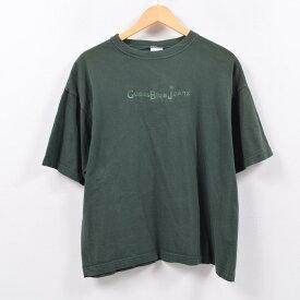 ゲス Guess ロゴTシャツ USA製 メンズXL /wbb9001 【中古】 【190511】