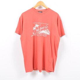 ラルフローレン Ralph Lauren POLO JEANS COMPANY ロゴプリントTシャツ メンズL /wbb9168 【中古】 【190511】【SS1909】