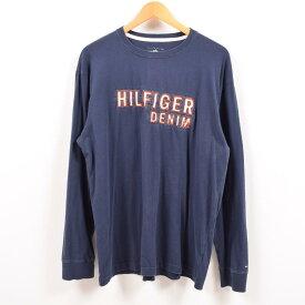 トミーヒルフィガー TOMMY HILFIGER ロングTシャツ ロンT メンズXL /wbe0774 【中古】 【190523】【PD2001】【CS2003】【【SS2003】】