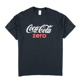 ギルダン GILDAN COCA-COLA ZERO コカコーラゼロ アドバタイジングTシャツ メンズXL /wbe3847 【中古】 【190606】