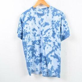フルーツオブザルーム FRUIT OF THE LOOM タイダイ柄Tシャツ メンズM /wbf0448 【中古】 【190608】【SS1909】