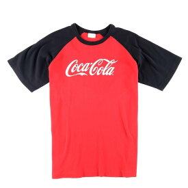 コカコーラ COCA-COLA ラグラン アドバタイジングTシャツ メンズL /wbf3614 【中古】 【190607】