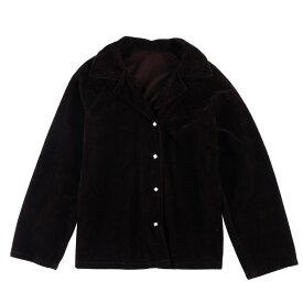 パイル地 長袖 オープンカラーシャツ レディースL /wbf3371 【中古】 【190610】【PD190919-2】【CS2001】