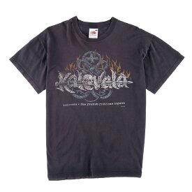 フルーツオブザルーム FRUIT OF THE LOOM Kalevala カレヴァラ バンドTシャツ メンズM /wbf3212 【中古】 【190613】