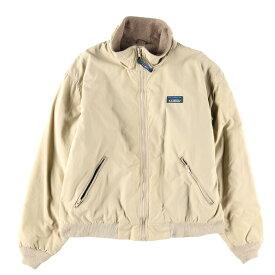 80〜90年代 エルエルビーン L.L.Bean Warm-up Jacket フリースライナー ナイロンジャケット メンズL /wbe2307 【中古】 【190622】