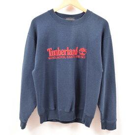 90年代 ティンバーランド Timberland ロゴスウェット トレーナー USA製 メンズM /wbe6961 【中古】 【190628】