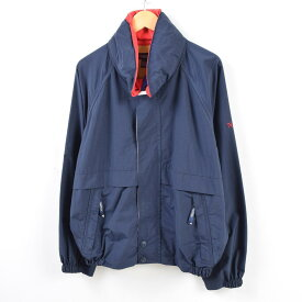 90年代 ノーティカ NAUTICA フード収納型 セーリングジャケット メンズL /wbf5513 【中古】 【190707】
