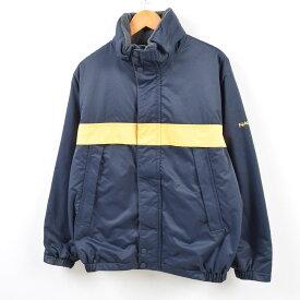 ノーティカ NAUTICA フード収納型 リバーシブル セーリングジャケット フリースジャケット メンズM /wbf5514 【中古】 【190707】
