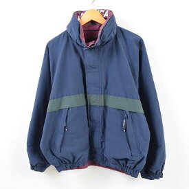 ノーティカ NAUTICA フード収納型 リバーシブル セーリングジャケット メンズM /wbf5517 【中古】 【190707】