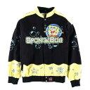 ビッグサイズ NICK by JH Design SPONGE BOB スポンジボブ レーシングジャケット 4XL レディースフリーサイズ /wbf2398 【中古】 【190…
