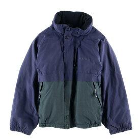 90年代 ノーティカ NAUTICA フード収納型 リバーシブル セーリングジャケット フリースジャケット メンズM /wbf2410 【中古】 【190708】
