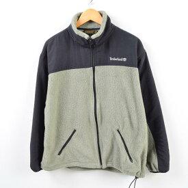 90年代 ティンバーランド Timberland WEATHERGEAR ナイロンxフリースジャケット メンズM /wbf4267 【中古】 【190709】