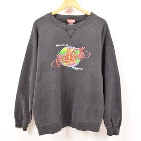 90年代 コカコーラ COCA-COLA ATLANTA ロゴスウェット トレーナー USA製 メンズXL /wbf7541 【中古】 【190715】