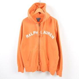 ラルフローレン Ralph Lauren POLO JEANS COMPANY ロゴワッペン スウェットフルジップパーカー メンズXL /wbg0754 【中古】 【190811】