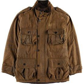 バブアー Barbour TROOPER トゥルーパー ワックスコットン オイルドジャケット 英国製 メンズL /wbf8195 【中古】 【190816】【PD190926-1】