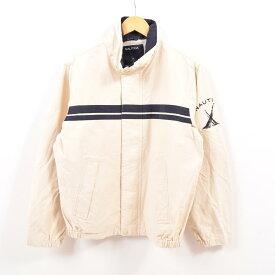 ノーティカ NAUTICA 袖ロゴ セーリングジャケット メンズL /wbg0471 【中古】 【190810】