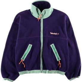 ティンバーランド Timberland WEATHERGEAR フリースジャケット USA製 メンズXL /wbf8275 【中古】 【190812】