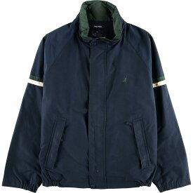 ノーティカ NAUTICA フード収納型 セーリングジャケット メンズXL /wbf8487 【中古】 【190819】
