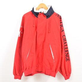 90年代 ノーティカ NAUTICA CHALLENGE J-CLASS 袖ロゴ セーリングジャケット メンズXXL /wbg9290 【中古】 【190819】