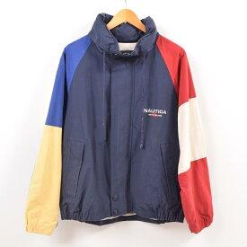 90年代 ノーティカ NAUTICA セーリングジャケット メンズL /wbg9294 【中古】 【190819】