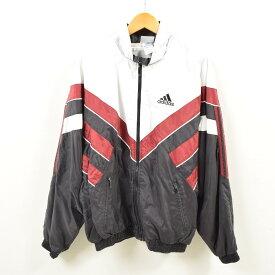 90年代 アディダス adidas ウインドブレーカー メンズXL /wbg8980 【中古】 【190820】